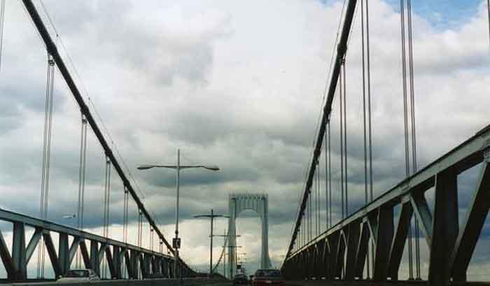 Tacoma Back Pages >> Bronx Whitestone Bridge Midspan Northbound