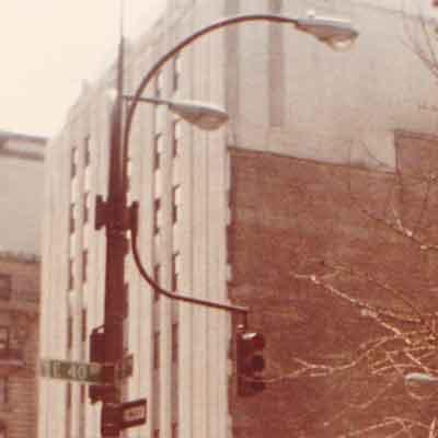 Bronzed 5th Avenue Donald Deskey Light Pole 40th Street