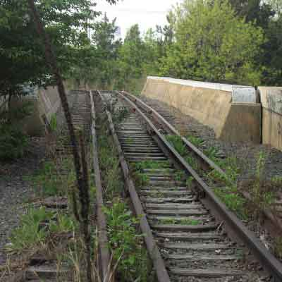Meadowbrook Parkway at Long Island Railroad Spur
